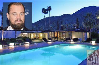 A principios de año, Leonardo DiCaprio adquirió tremenda mansión en Palm...