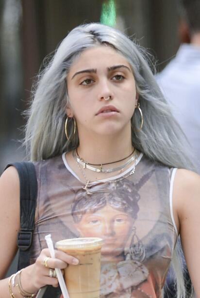 Lourdes Leon Gray Hair