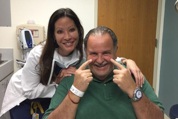 La doctora Wendy Lee estuvo a cargo de la operación y la recuperación, y...