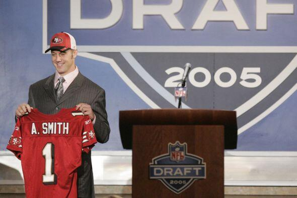 14. Alex Smith (2005).- San Francisco 49ers.