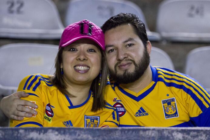 El color de afición en la Final de Liga MX
