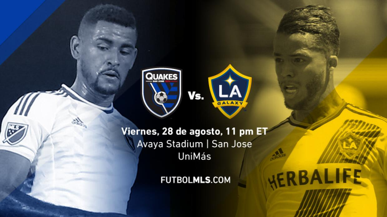 San Jose Earthquakes v LA Galaxy