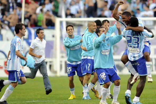 Al minuto 9, Duda puso en ventaja al Málaga y el Madrid veía alejarse la...