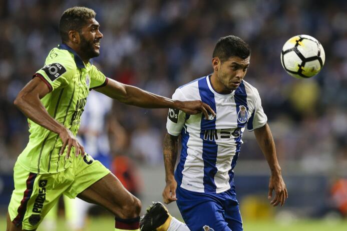 (Liga NOS) - Rio Ave 1-2 Porto: Héctor Herrera fue el único mexicano que...