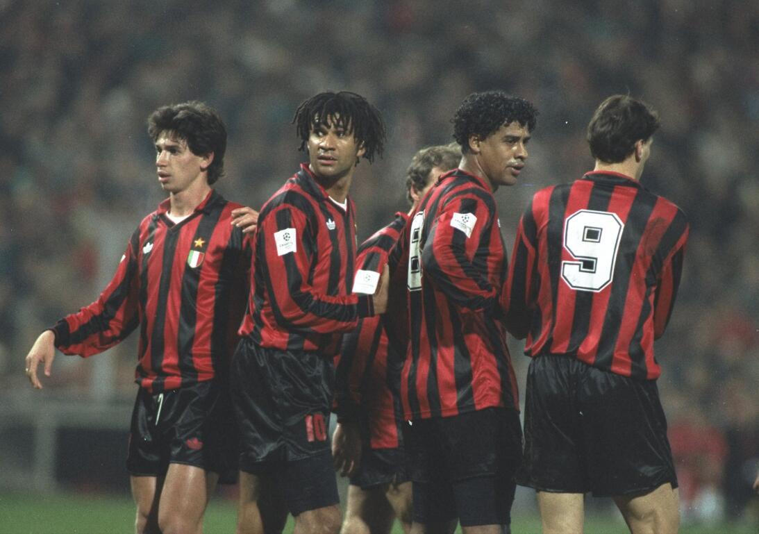El Milán de Gullit, Rijkaard, van Basten y compañía tiene el récord hist...