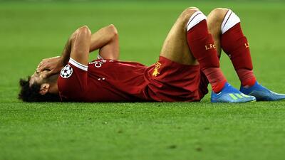 ¡Adiós Mundial! Mohammed Salah se dislocó la clavícula en la final de la Champions