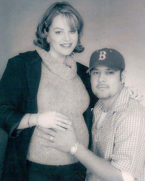 Jenni Rivera y Johnny Angel López Rivera