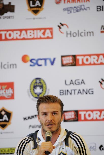 Beckham no deja de ser un fenómeno mediático, más allá de su impacto fut...