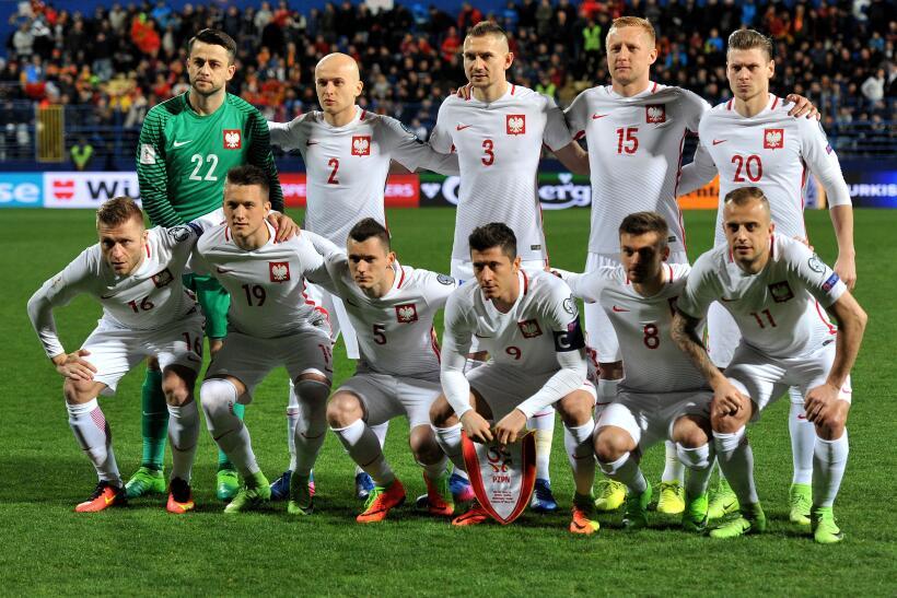 (UEFA / Grupo E) 1. Polonia