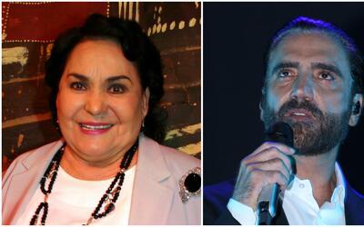 Carmen Salinas defiende a Alejandro Fernández de quienes lo tildan de al...