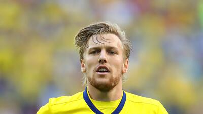 En fotos: Emil Forsberg, el '10' sueco que marcó el camino de su país hacia cuartos de final