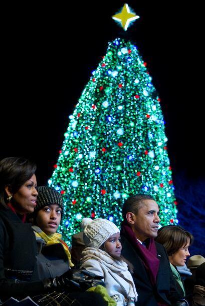 La tradición de encender el Arbol Nacional de Navidad se remonta a 1923,...