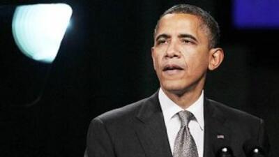 El presidente Barack Obama ya no pudo continuar con su postura oficial d...
