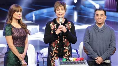 Daniela Romo, Galilea Montijo y Adal Ramones en la presentación de 'Lo q...