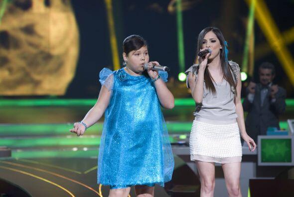 Para Dania fue una gran experiencia cantar acompañada de Paty Cantú.