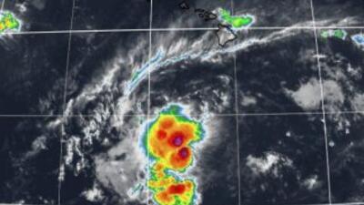 Depresión tropical Kilo. (Imagen: The Weather Chanel)