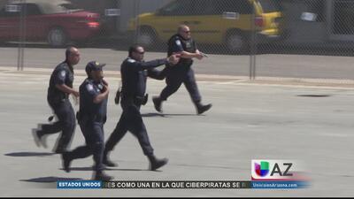 "Simulacro ""Operación Zona Roja"""