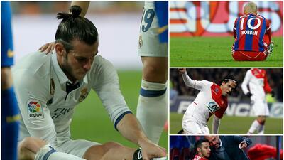 Bale y otros cracks de cristal que sufren constantes lesiones