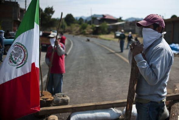Los habitantes de Cherán denunciaron extorsiones a comercios hasta por 1...
