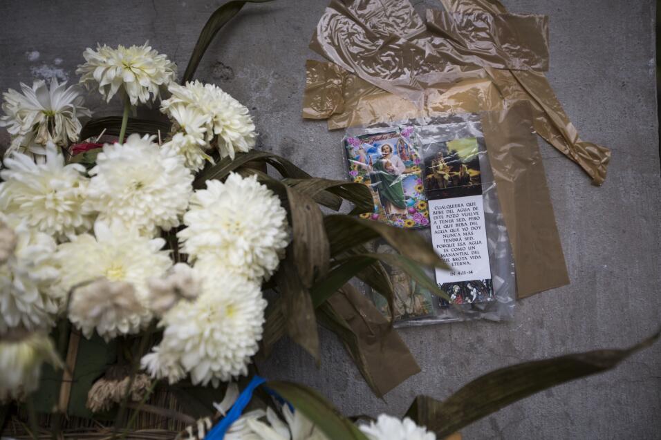 Altares tras el terremoto