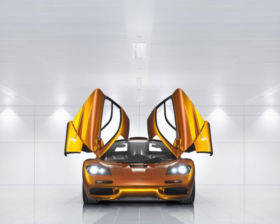 Puesto 7: el veterano McLaren F1. Nacido en 1992, poseía un rasgo que lo...