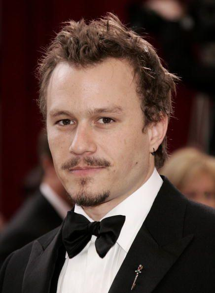Heath Ledger, el difunto actor, también está entre los presuntos amantes...