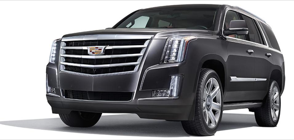 La familia Beckham ha tenido una interminable serie de Cadillac Escalade...