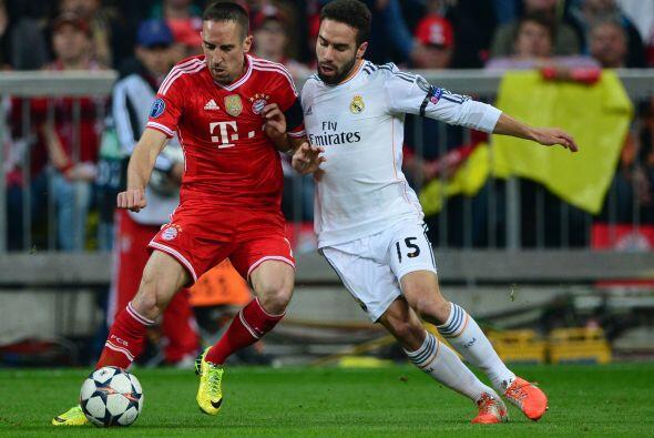 Carvajal (7): Desquició a Franck Ribery una vez más. El francés no consi...