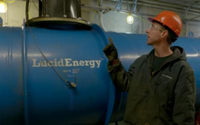 Los ingenieros han instalado pequeñas turbinas dentro de las ca&n...