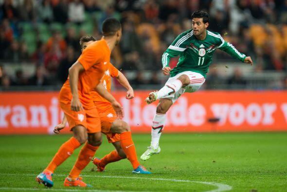 México sorprendería en una gran jugada de Héctor Herrera al minuto 8, el...