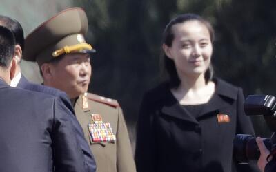 Kim Yo Jong, la hermana del líder norcoreano, en una imagen del 1...