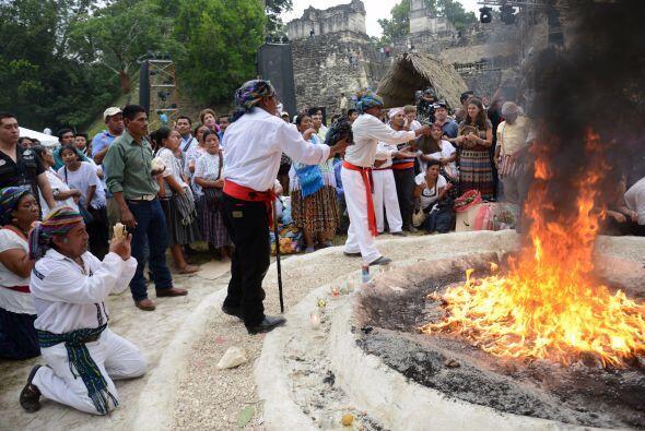 """""""Los mayas eran científicos y sabían todo de la naturaleza y de los cicl..."""