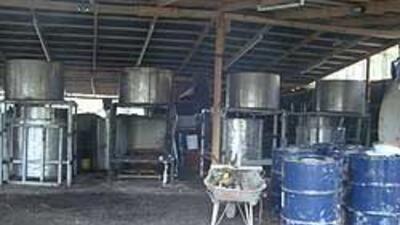 Soldados mexicanos desmantelaron narcolaboratorio en Durango, el más gra...