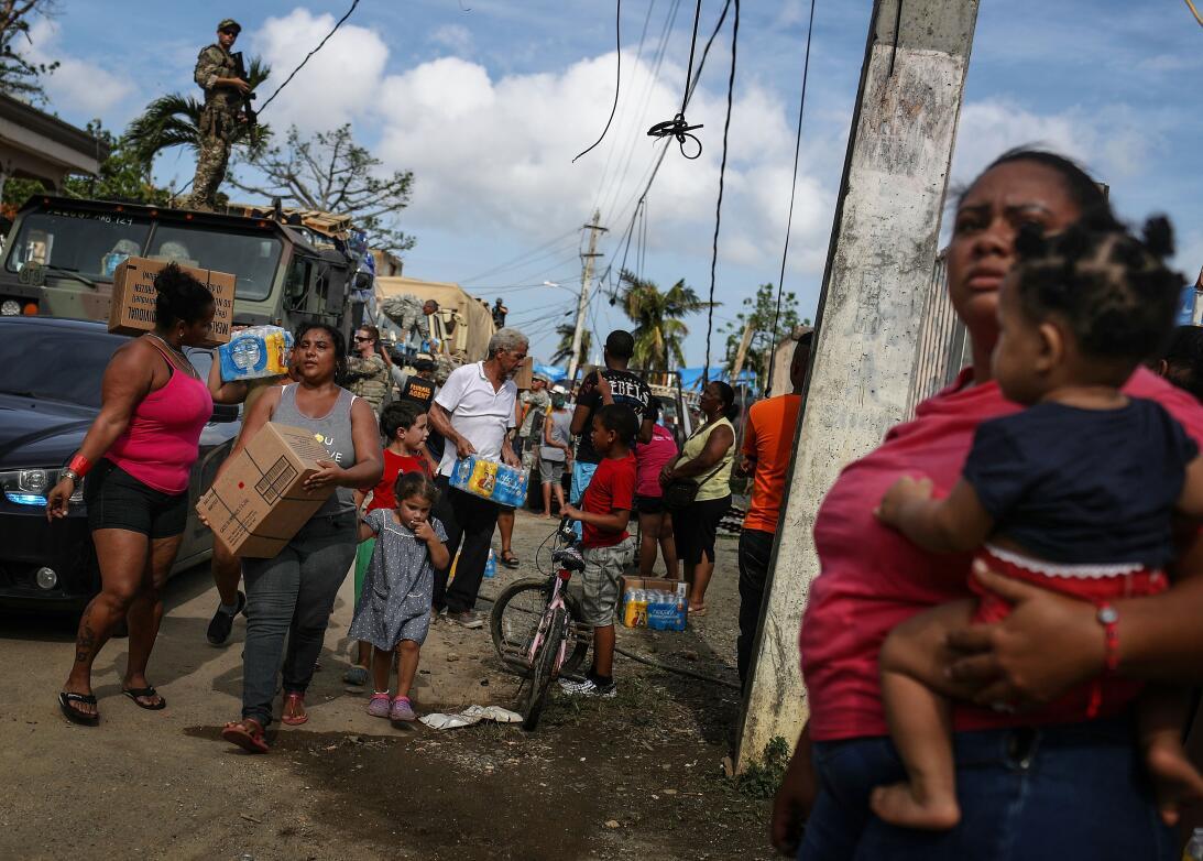 A un mes del huracán Maria en Puerto Rico