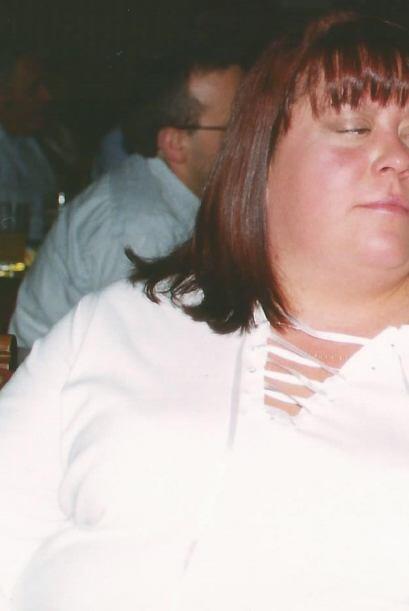 Su peso se disparó a las 460 libras, esto la llevo a una severa depresió...