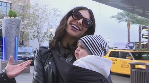 Desde las alturas con Alejandra Espinoza y su bebe, Mateo