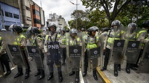 Este sábado ha habido nuevas protestas en Venezuela pese a la decisión d...