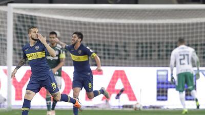 En fotos: Palmeiras se queda corto y Boca Juniors va a la Final de la Copa Libertadores