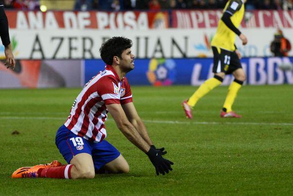 El Atlético Madrid, al que está pasando factura la sequía goleadora del...