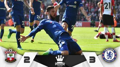 Giroud aparece y salva al Chelsea ante el Southampton