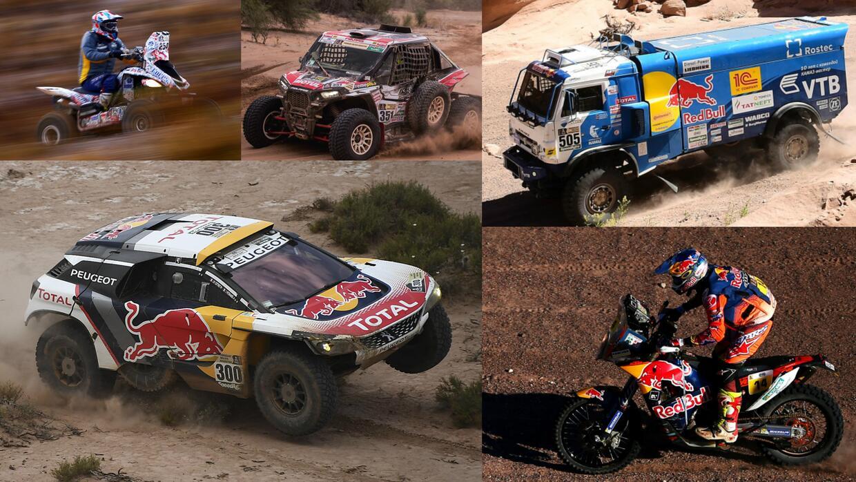 Estos Son Los Veh U00edculos Campeones Del Rally Dakar 2017 Y