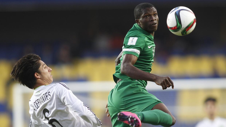 Nigeria dio la vuelta al marcador y al descanso están derrotando a Méxic...