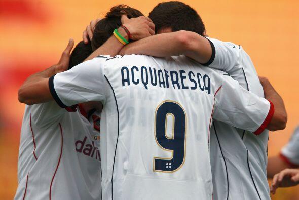 Los visitantes se fueron al frente 3-1 al minuto 72 del partido.