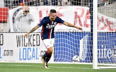 Diego Fagúndez fue el goleador de  la tarde.