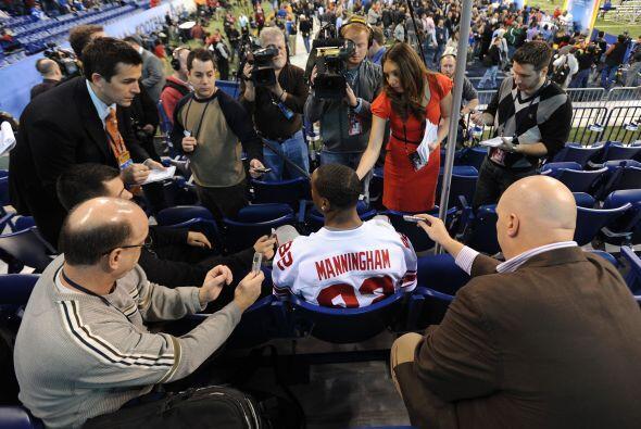 Cada año, previo al Super Bowl, se lleva a cabo el Media Day, don...