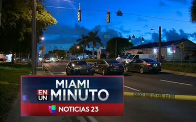 'Miami en un Minuto': autoridades de Brownsville investigan un tiroteo e...