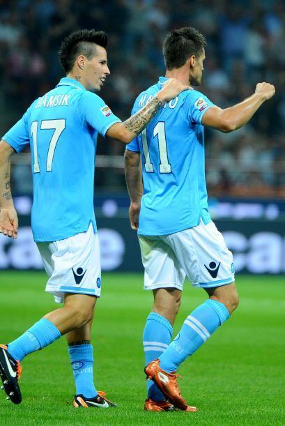 Pero Christian Maggio anotó el segundo y eso mató al Inter.