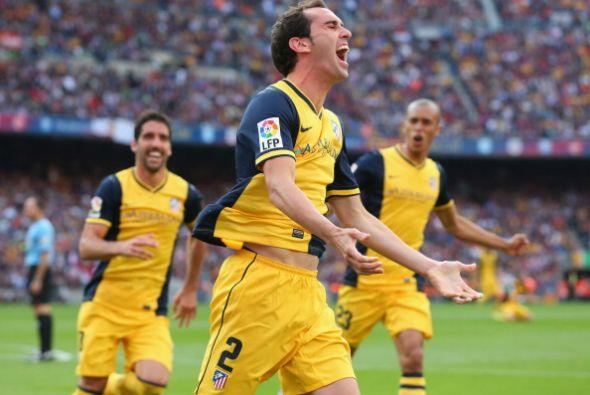 El Atlético empataba el partido y recuperaba el liderato.