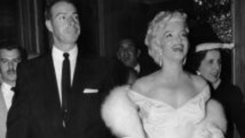 La pareja contrajo matrimonio en 1954 y se divorció en 1957.