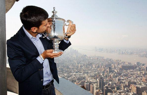 Djokovic acumula 64 victorias con dos derrotas, y un total de 10 títulos...